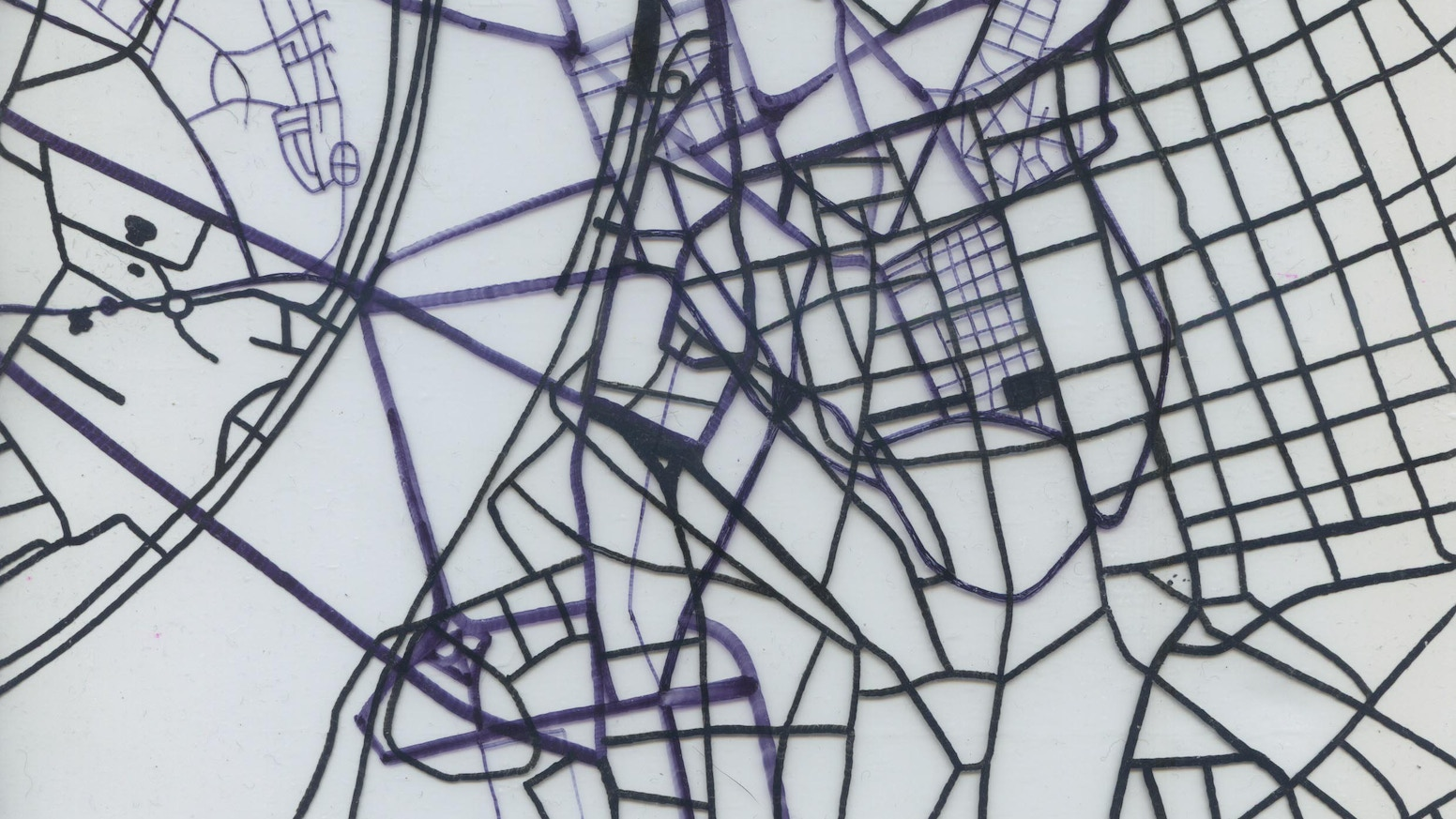 Residency at MÜSZi Organisation: exploring psychogeography, maps & the psyche