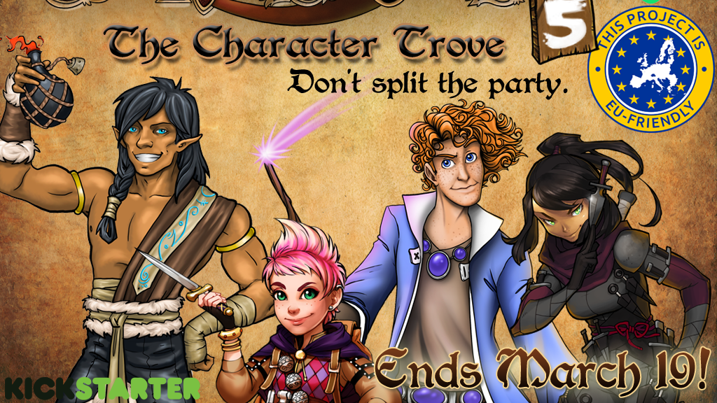 The Red Dragon Inn: 5 - The Character Trove project video thumbnail