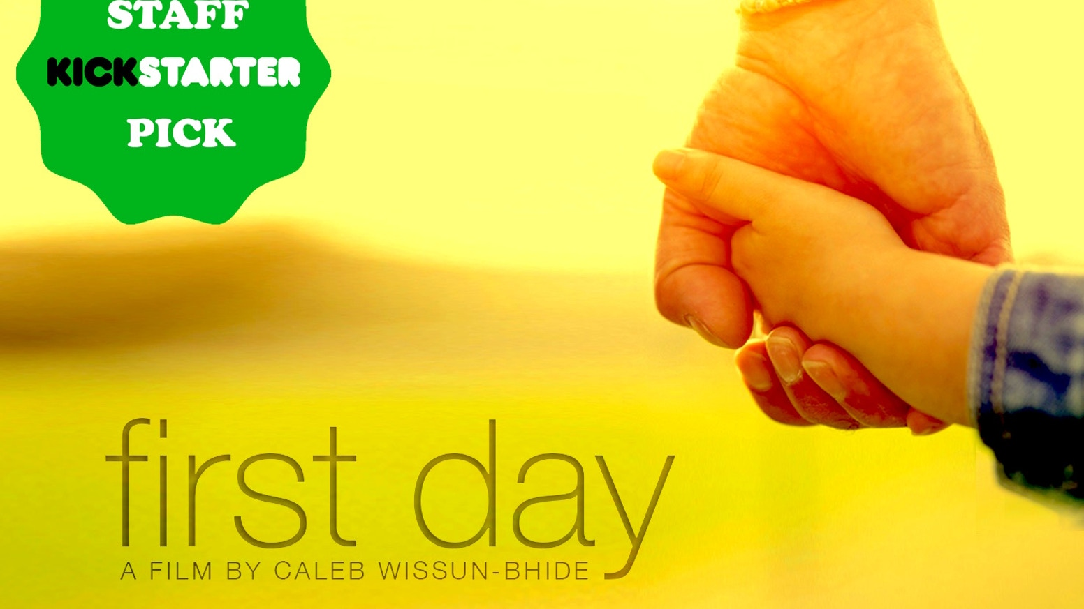 First Day by Caleb Wissun-Bhide » That's a Wrap! — Kickstarter