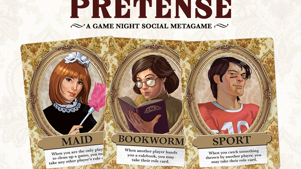 Pretense - A Game Night Social Metagame project video thumbnail
