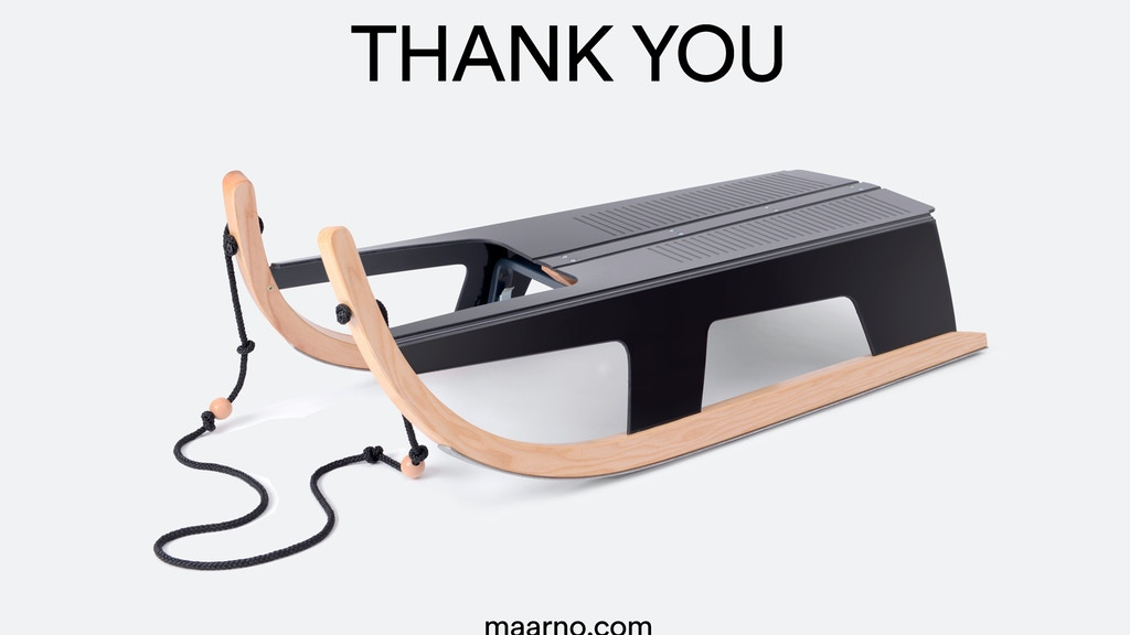 Folding Sled by Max Frommeld & Arno Mathies — Kickstarter