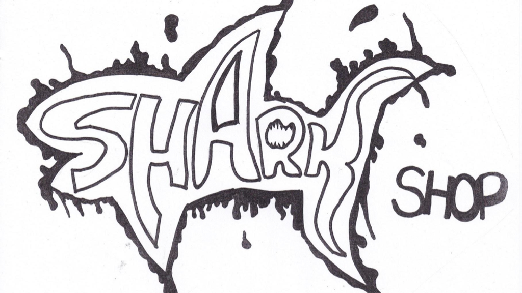Shark Shop T-Shirt Designs by Sutherland Engineering