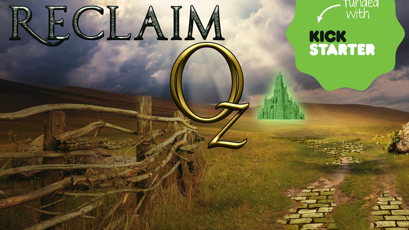 Reclaim Oz is a nontraditional deck building strategy game taking place in the Wonderful Land of Oz.