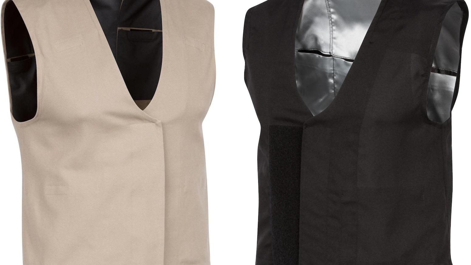 The Cold Shoulder Calorie Burning Vest by Dr  Wayne B  Hayes