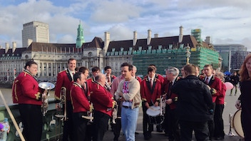 Funding for Tredegar band at London Pride 2015
