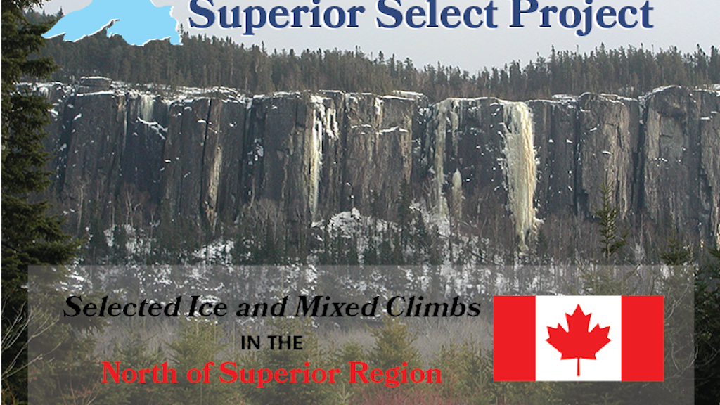 Superior Select - Ice/Mixed Climbing Guidebook project video thumbnail