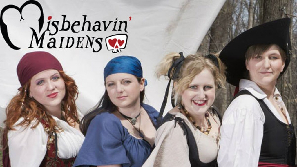 Misbehavin' Maidens' Debut Album, Full of Nerdy & Dirty Fun project video thumbnail