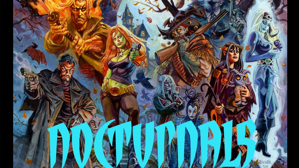 Dan Brereton's New Nocturnals Graphic Novel! project video thumbnail
