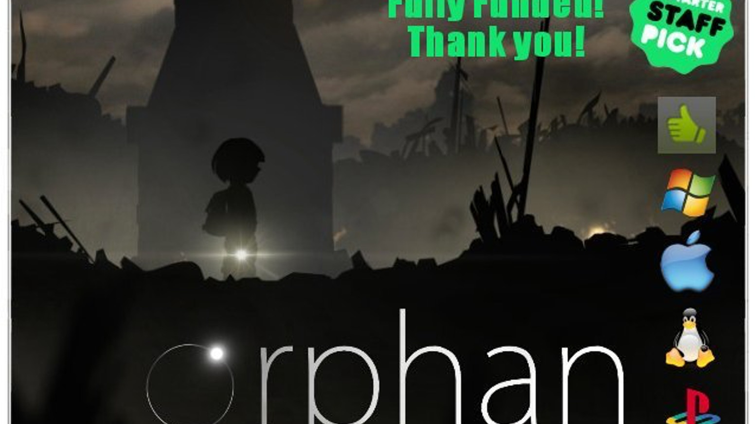 Orphan is a classically styled 2D action platformer where a young boy is a survivor of an overnight alien invasion.