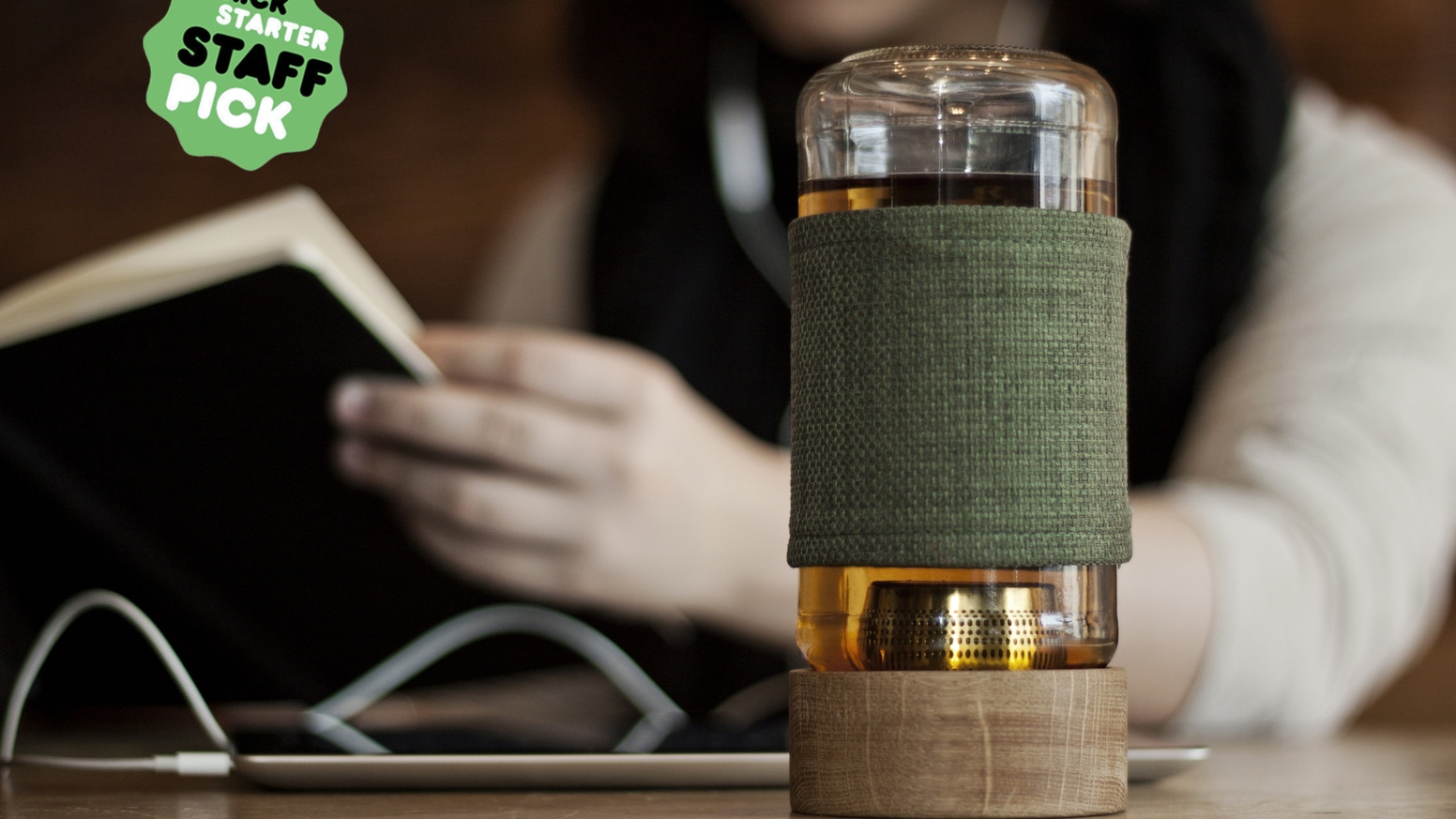 Brew great tasting loose leaf tea anywhere, without having to bring your kitchen along for the ride.