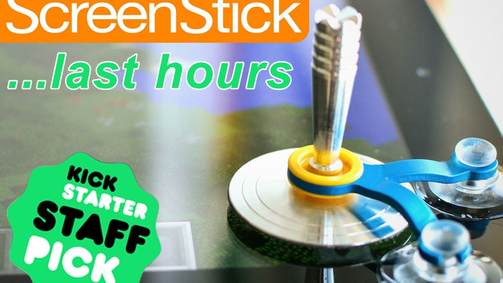 ScreenStick: Sensitive Joystick for Tablets & Smartphones project video thumbnail