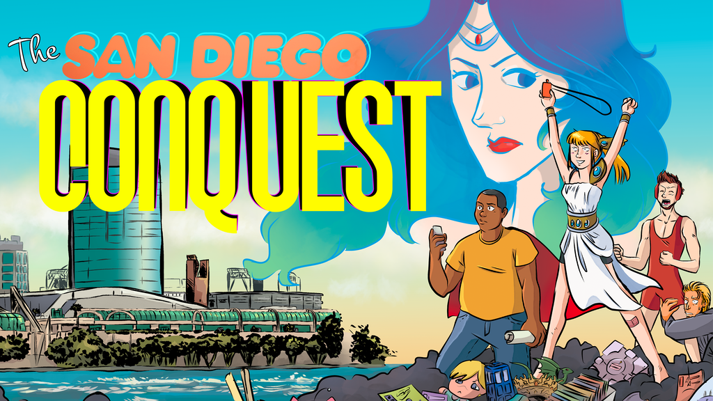Project image for THE SAN DIEGO CONQUEST - A Comic Con inspired Graphic Novel (Canceled)
