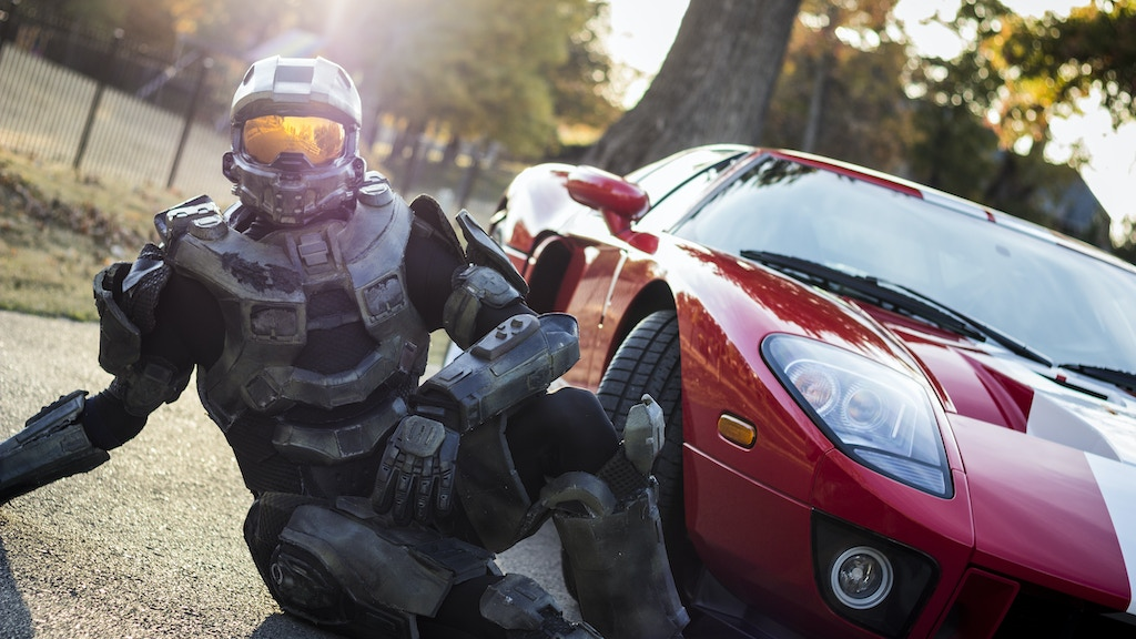 2015 Car Calendar Featuring Master Chief project video thumbnail