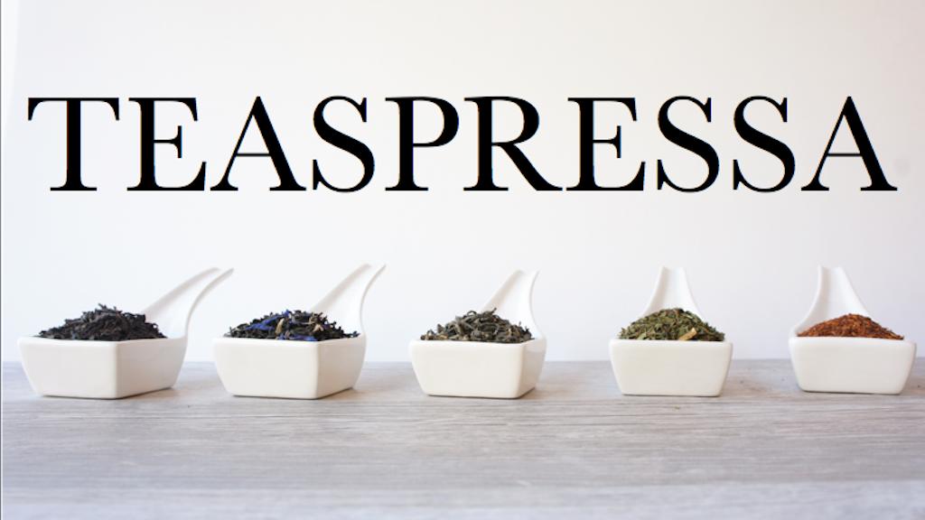 TEASPRESSA Tea Blend Launch project video thumbnail