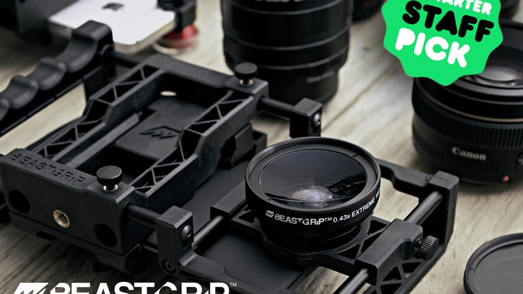 Beastgrip Pro the world's best camera rig for smartphones project video thumbnail
