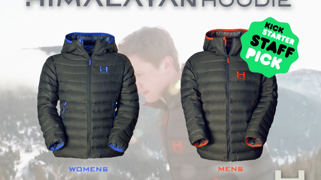 HIMALAYAN HOODIE - WARM & Superlight - High Performing project video thumbnail