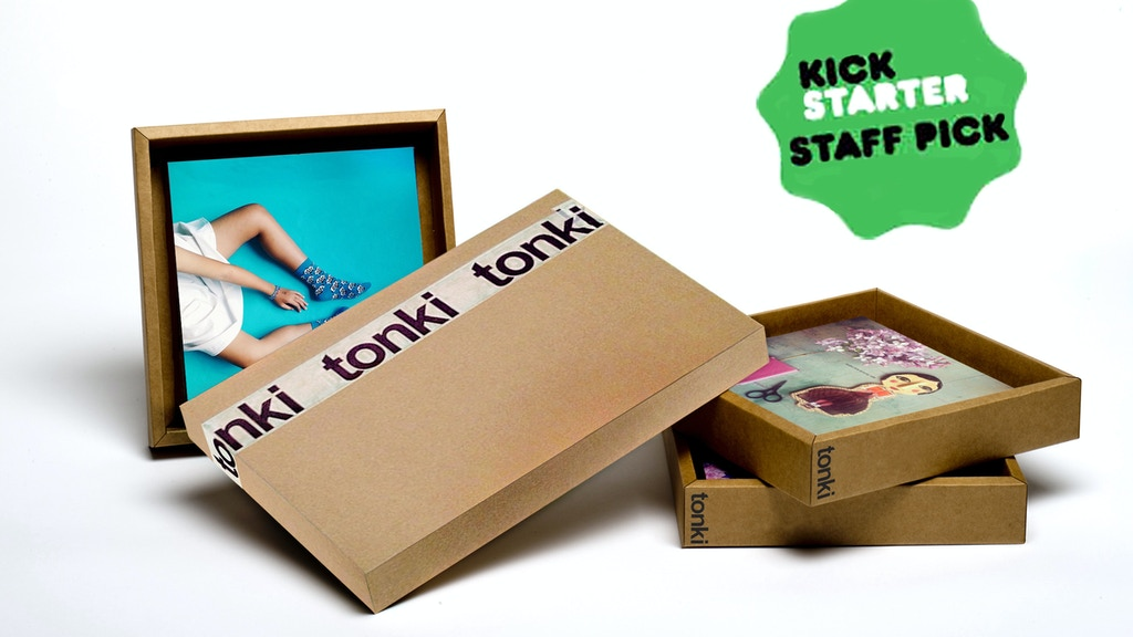 Tonki: Print your Instagram pics on our eco-friendly frames! project video thumbnail