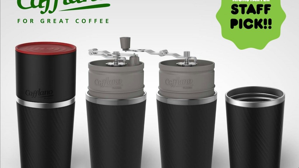 Cafflano® Klassic (All-in-one Coffee Maker) - STAFF PICK! project video thumbnail