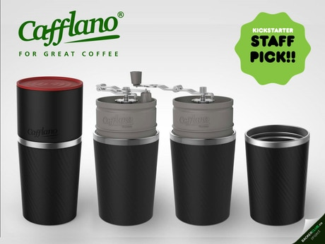 Delta Coffee Maker With Grinder : Cafflano Klassic (All-in-one Coffee Maker) - STAFF PICK! by Justin Ahn Kickstarter