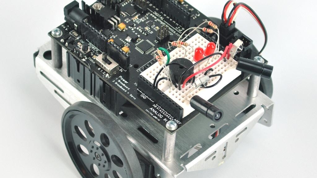 Open Source Robotics/Microelectronics Educational Board project video thumbnail