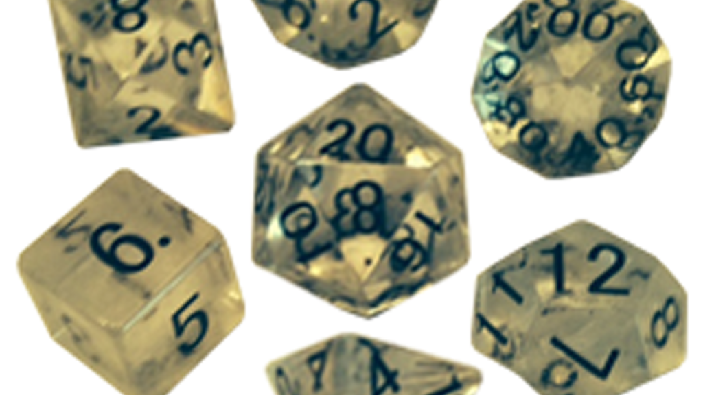 Real precious stone full 16mm Polyhedral Dice Sets project video thumbnail