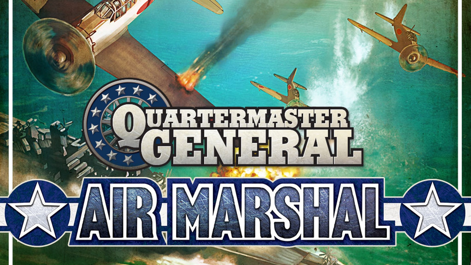 Air Marshal adds a new dimension to Quartermaster General, the fast-paced card driven game about WWII.