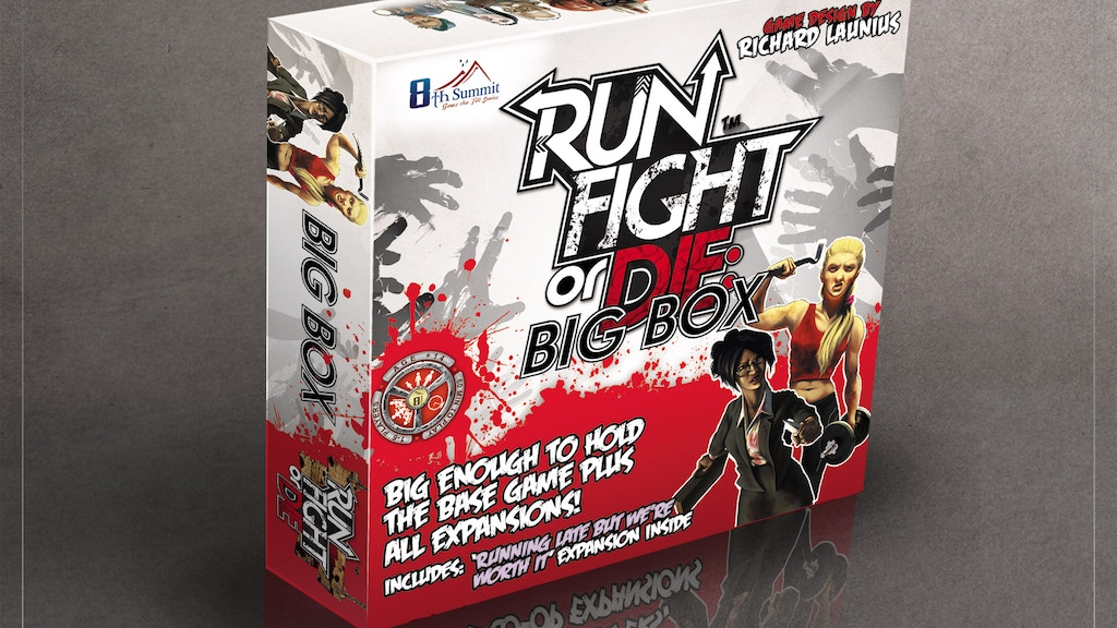 RUN FIGHT OR DIE! + NEW EXPANSION AND BIG BOX project video thumbnail