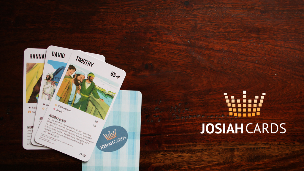 Josiah Cards   Bible Based Character Cards project video thumbnail