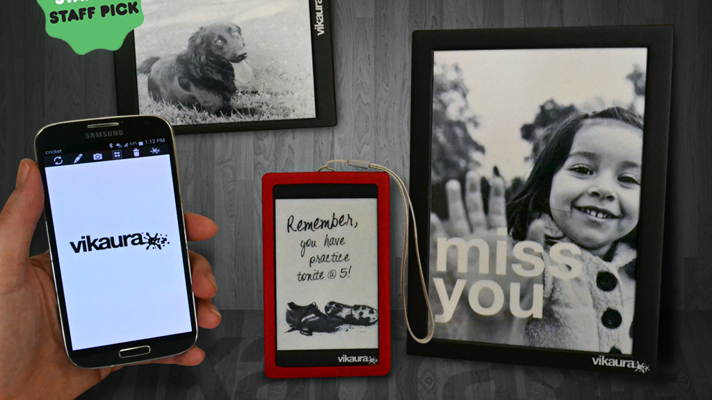 Vikaura Screen:  Use your smartphone to customize your world project video thumbnail