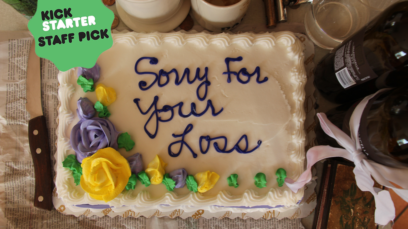 Sorry For Your Loss By Kathryn Dines And Eiseley Tauginas Kickstarter