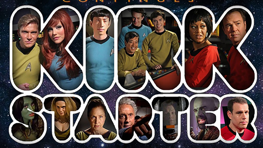 "Star Trek Continues 2015 ""Kirkstarter 2.0"" project video thumbnail"