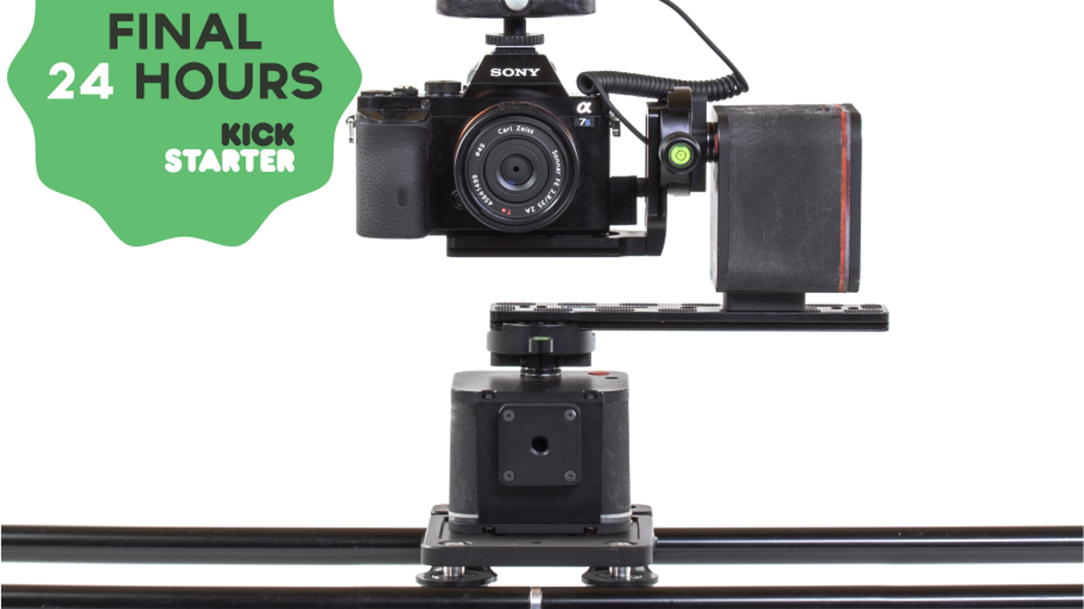 The most comprehensive and affordable camera motion control equipment to date. Create amazing video, timelapse or astrophotography.