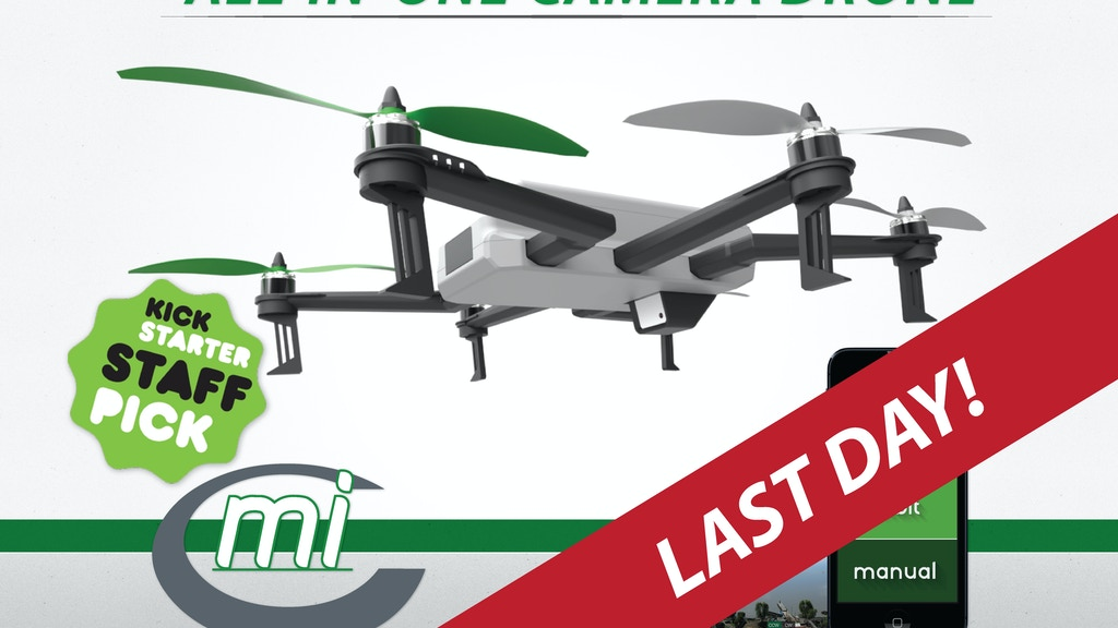C-mi: The First All-in-One Camera Drone by Rocket Scientists project video thumbnail