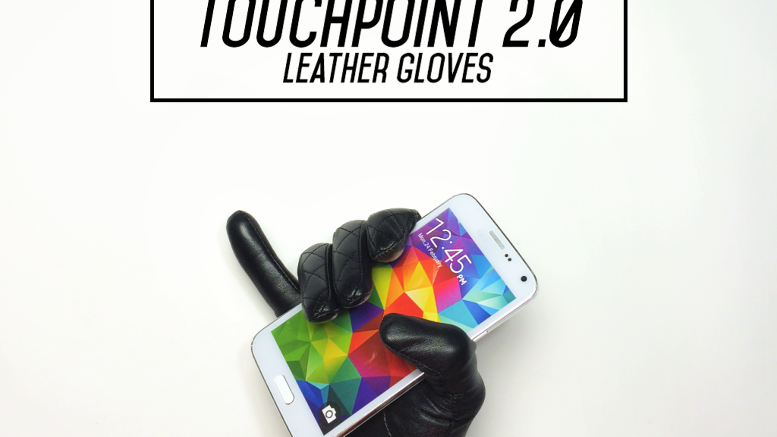 Leather gloves with classic style, touchscreen control, and NFC that can open any app with just a tap. Prepare for jealous stares.