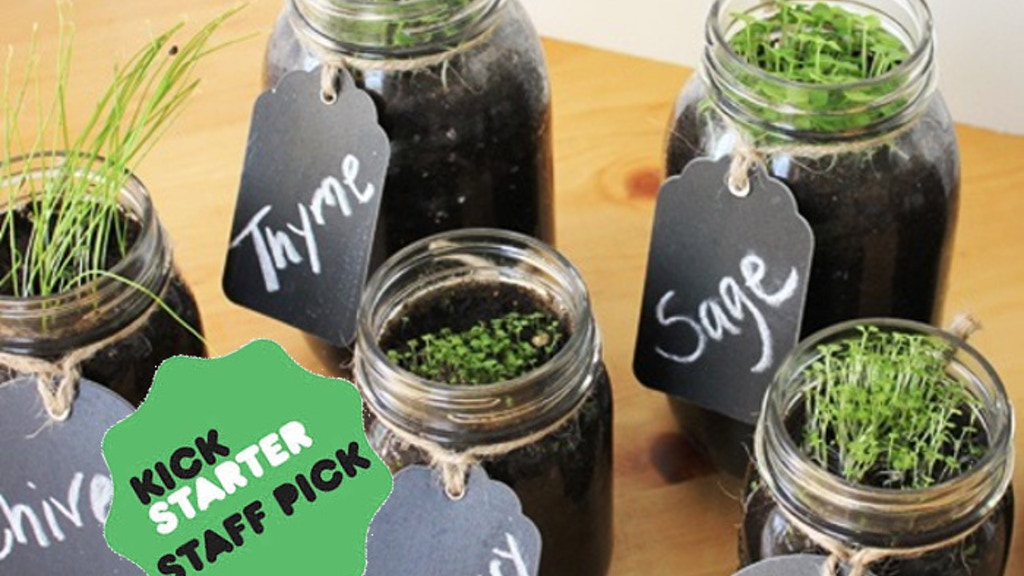 Mason Jar Gardens - Reducing the Distance from Farm to Table project video thumbnail