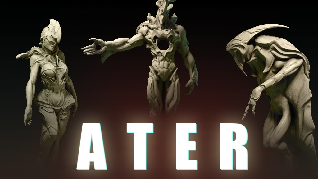 ATER collectible miniatures series project video thumbnail
