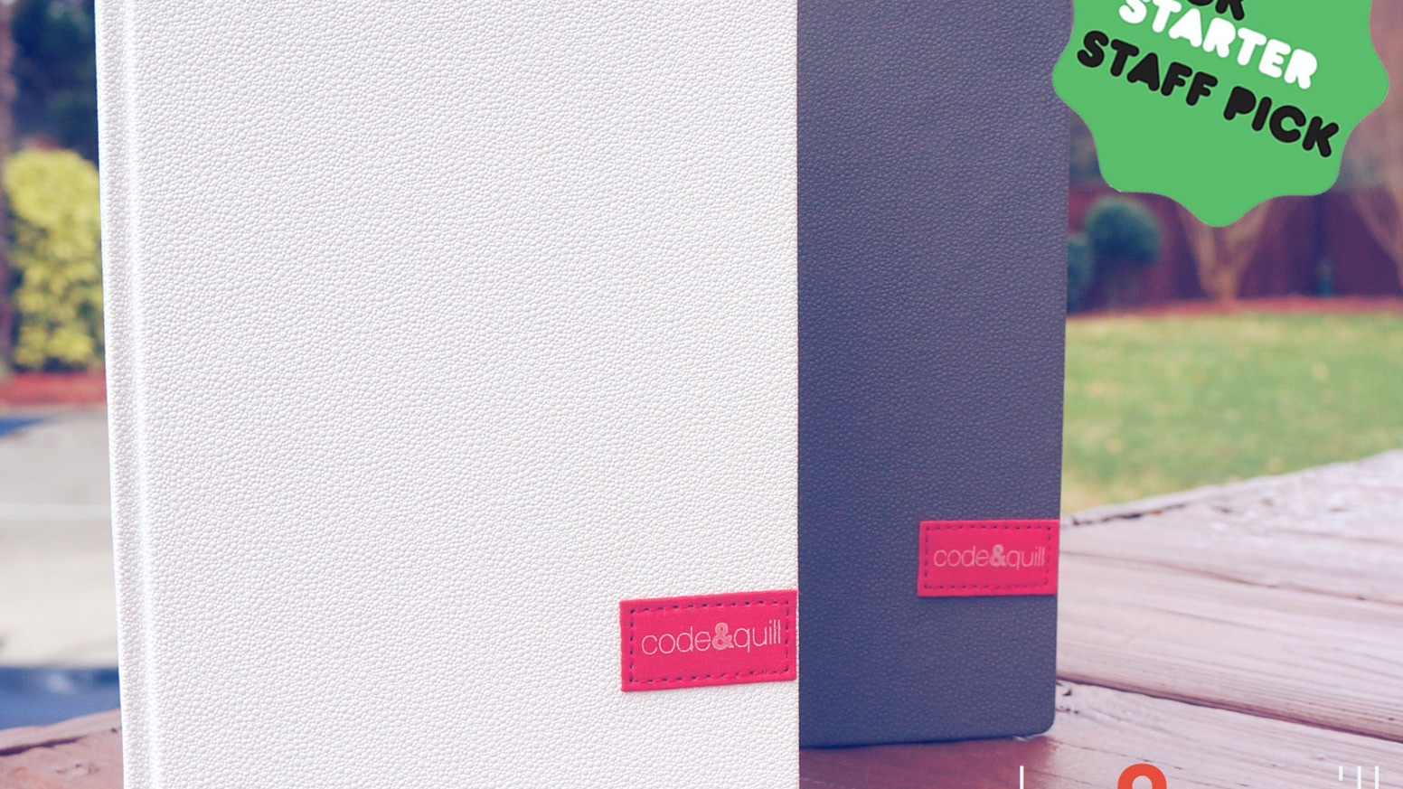 Beautifully crafted notebooks for creatives.