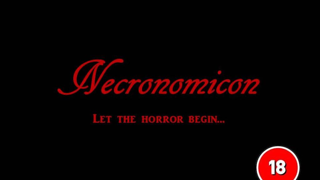 Necronomicon Horror RPG project video thumbnail