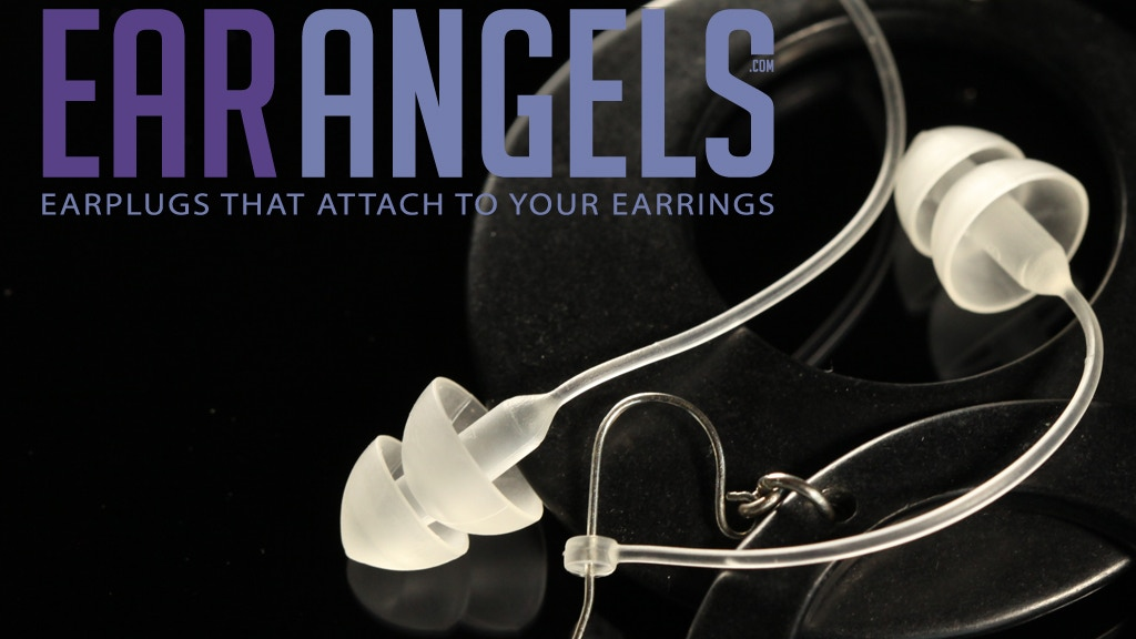 EarAngels - Earplugs that attach to your earrings! project video thumbnail