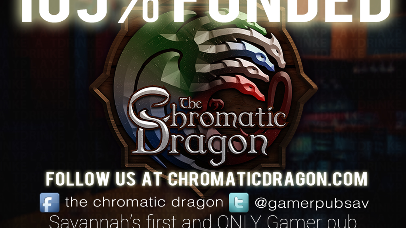 The Chromatic Dragon: play a video game or board game, have a beer, and eat some dinner - all without leaving your seat.