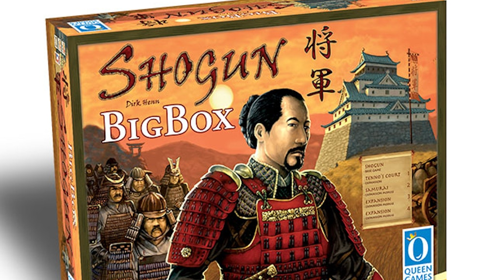 Shogun Big Box project video thumbnail