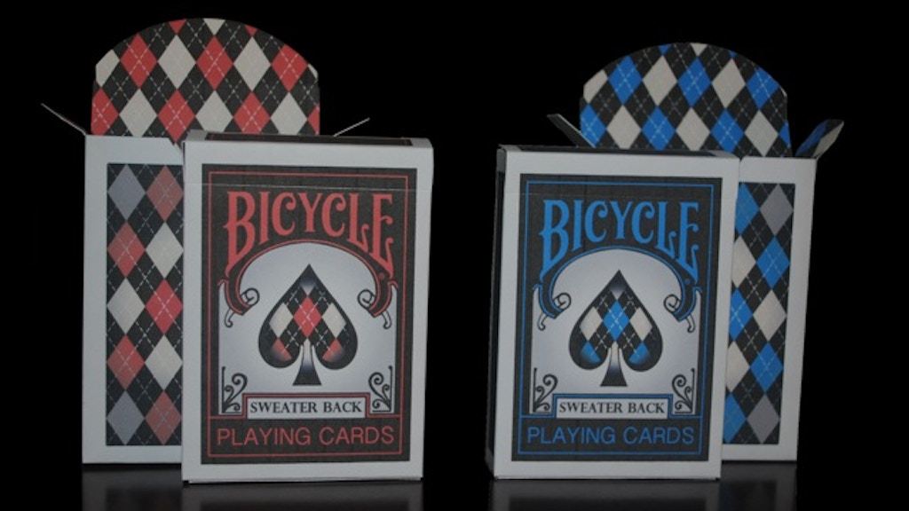 Project image for Bicycle® Sweater Back Playing Cards (Canceled)