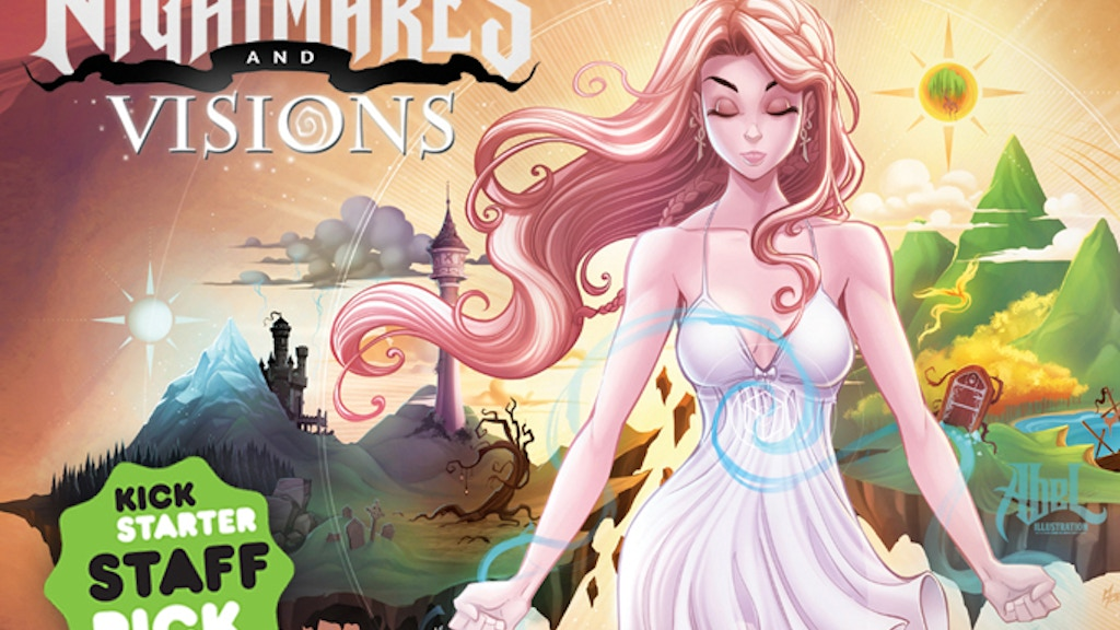 Nightmares & Visions - A New Artbook project video thumbnail