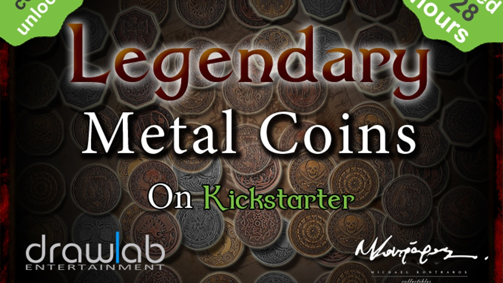 Legendary Metal Coins for Gaming project video thumbnail