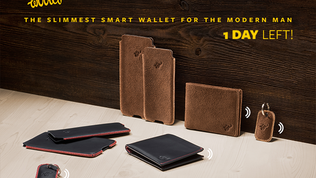 Woolet: The Slimmest Smart Wallet for the Modern Man project video thumbnail