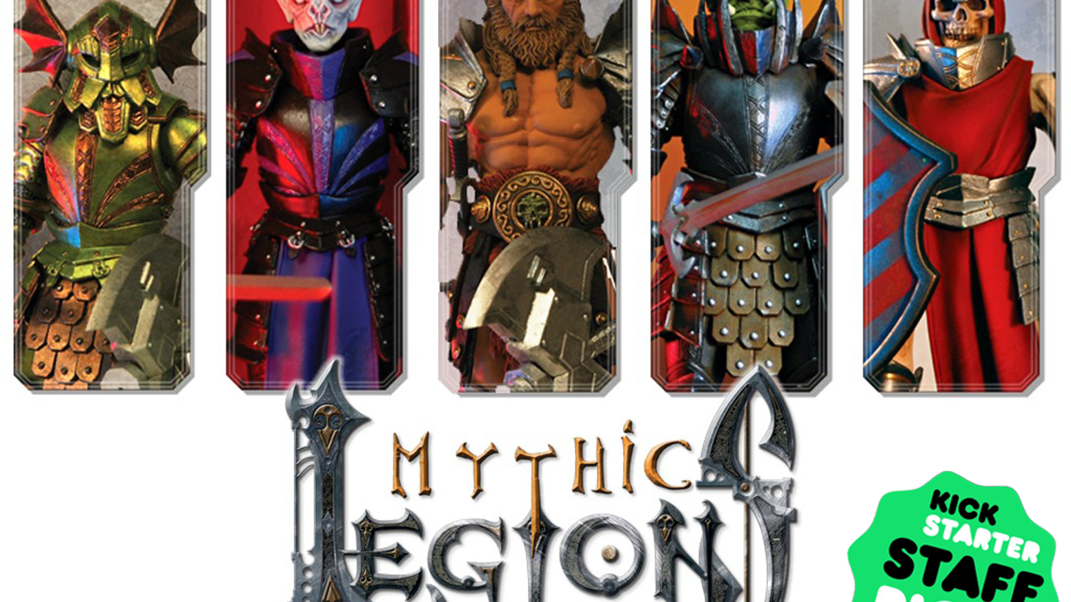 "Mythic Legions is a line of beautifully detailed and fully articulated 6"" scale fantasy action figures by Four Horsemen Studios"