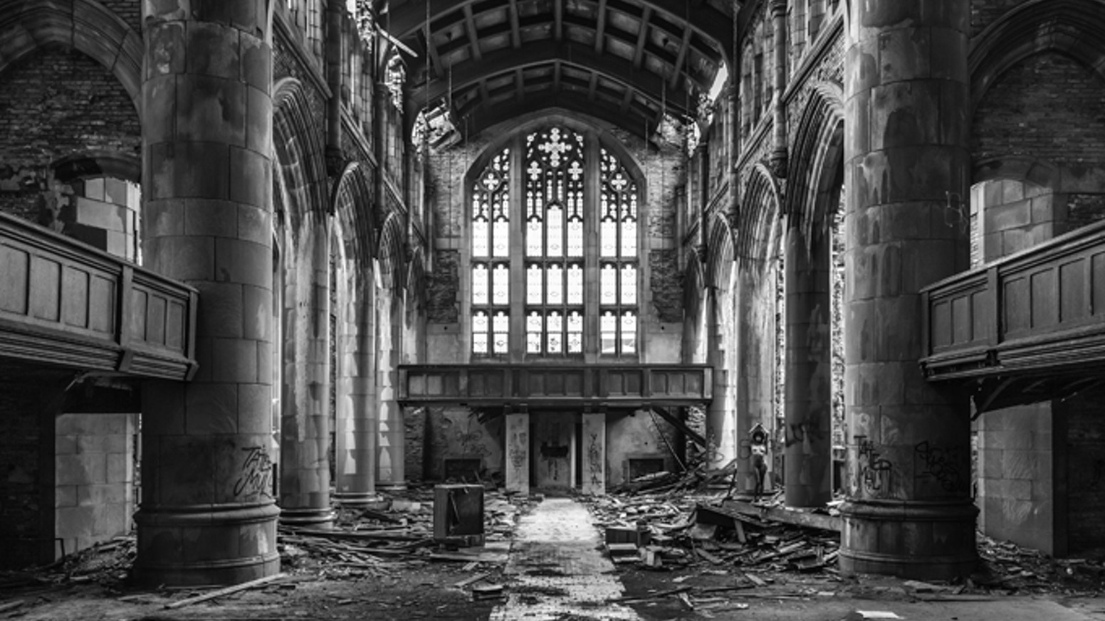 A fine art photography project that delves into studies of natural beauty in contrast with man-made decay.