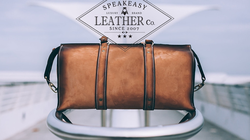 Changing the Way you See leather project video thumbnail