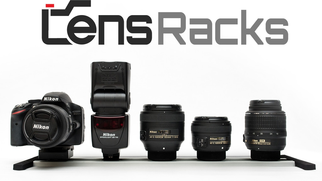 LensRacks - Quick Change Camera Gear Storage System project video thumbnail