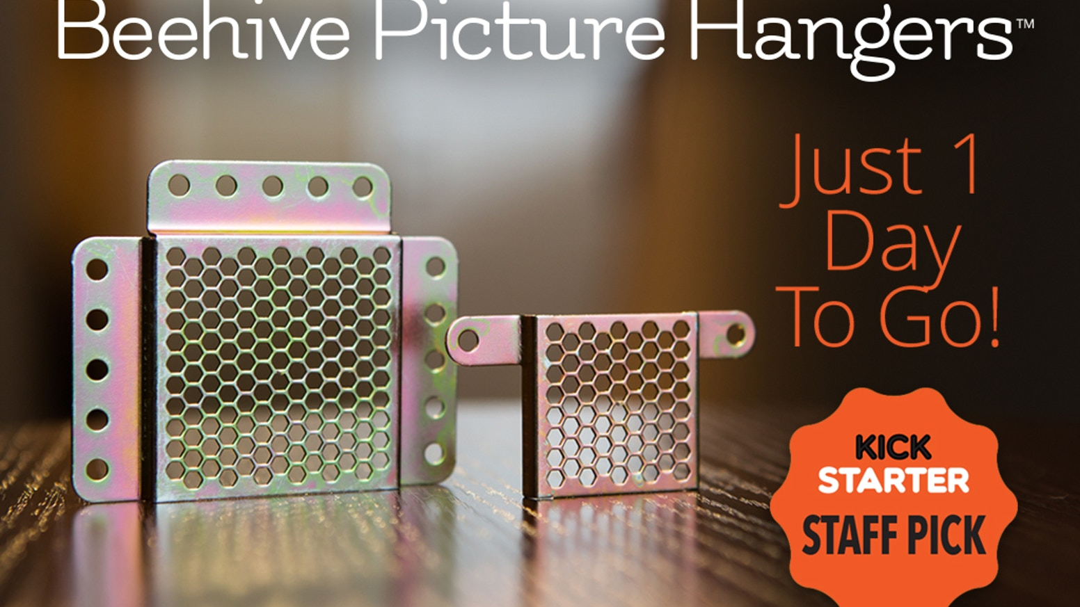 The world's first adjustable picture hangers! Hang picture frames WITHOUT TAKING A SINGLE MEASUREMENT, in less than 5 minutes! beehivepicturehangers.com